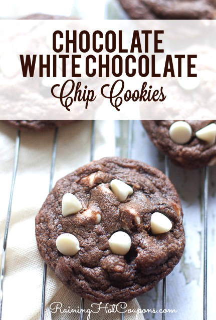chocolate cookies White Chocolate Chip Cookies Recipe