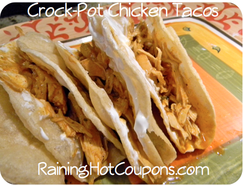 crock pot chicken tacos 3 Crock Pot Chicken Tacos Recipe (Super Easy and Yummy!)