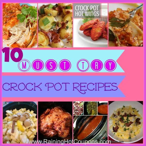 10 crock pot recipes you must try for Crock pot thanksgiving dessert recipes