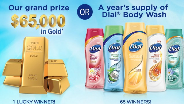 Dial Kids Body & Hair Wash Only $0.79 + New Dial Sweepstakes (Win 1 Year Supply and More)