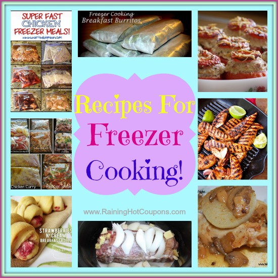 freezer cooking Lots of Freezer Cooking Recipes