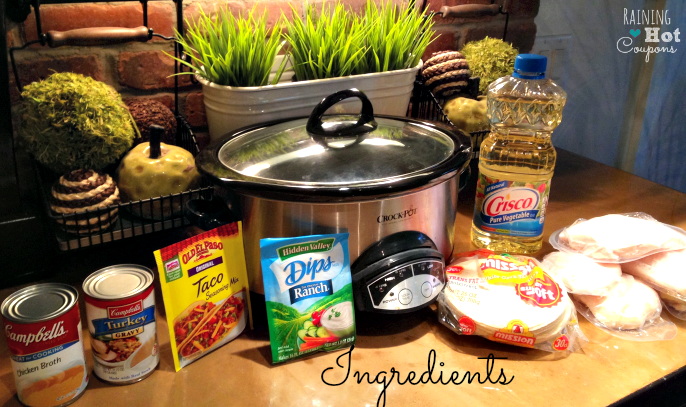 ingredients Crock Pot Chicken Tacos Recipe (Super Easy and Yummy!)