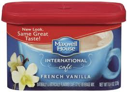 international coffee Target: Maxwell House International Coffee only $1.25!