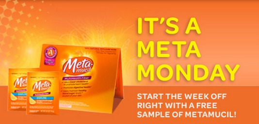 metamucil samples