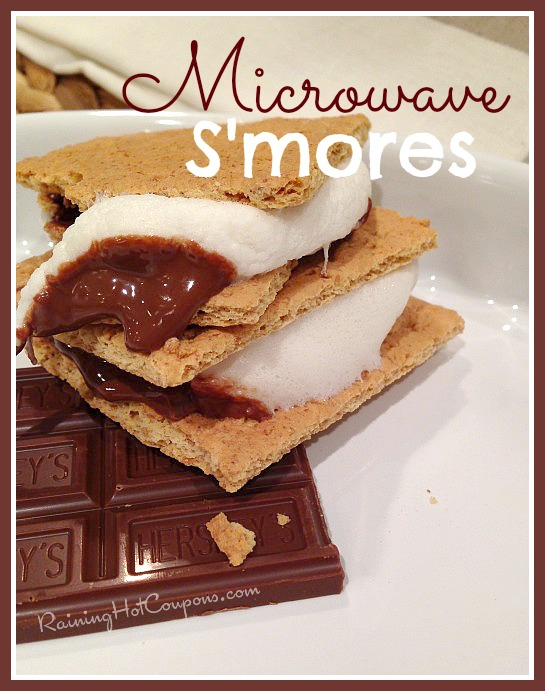 microwave smores Microwave Smores Recipe (Takes 15 Seconds!)