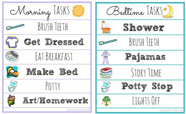 morning tasks