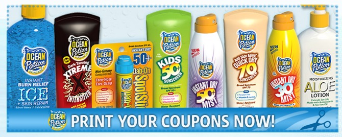 Walmart: *HOT* FREE Ocean Potion Face Sunscreen