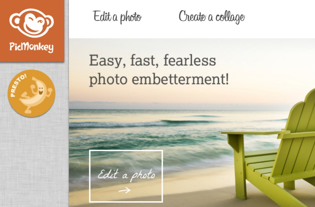 PicMonkey: FREE 6 Month Membership to Edit Photos, Make Collages + More ($30 Value!) NO Credit Card Needed!