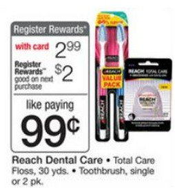 free reach toothbrushes