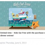 Red Lobster Coupon: FREE Kid's Meal when you Purchase an Entree