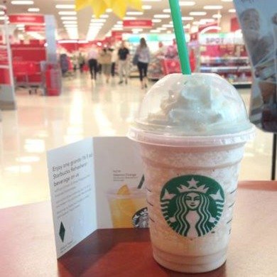 Starbucks Target: Buy 3 Frappuccinos and Get a FREE Handcrafted Refresher!