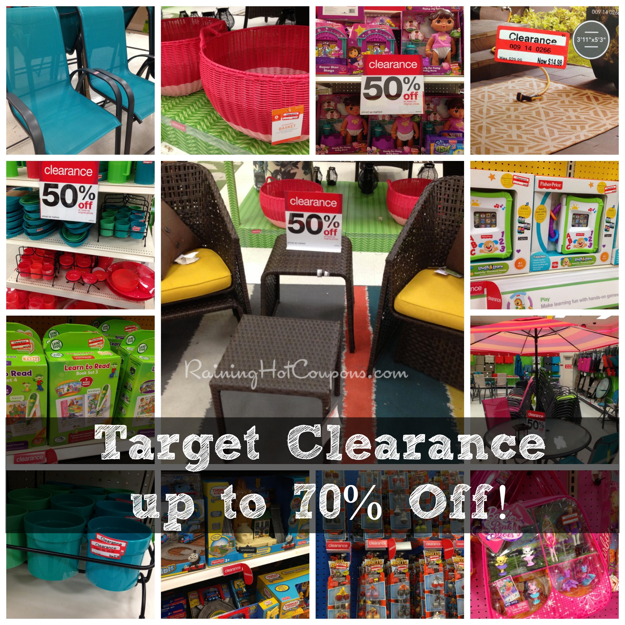 Tar Clearance Deals off TONS of Items off Patio Toys