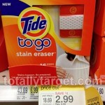 Target: Tide To Go Stain Eraser 16 ct Package Only $1.49 (Reg $6.99!)
