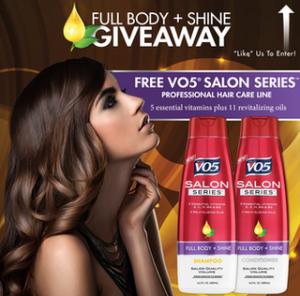 v05 300x296 FREE V05 Shampoo and $1.25 coupon!
