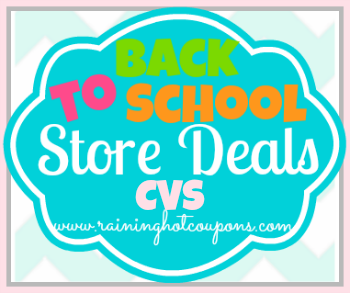 BTS CVS CVS Back to School Deals 7/21/13