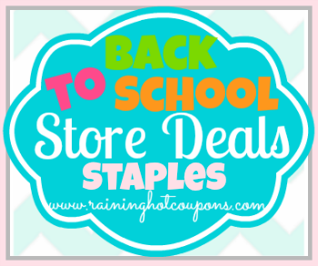 BTS Staples Staples Back to School Deals 7/28/13
