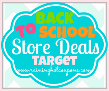 BTS Target Target Back to School Deals 7/20/14