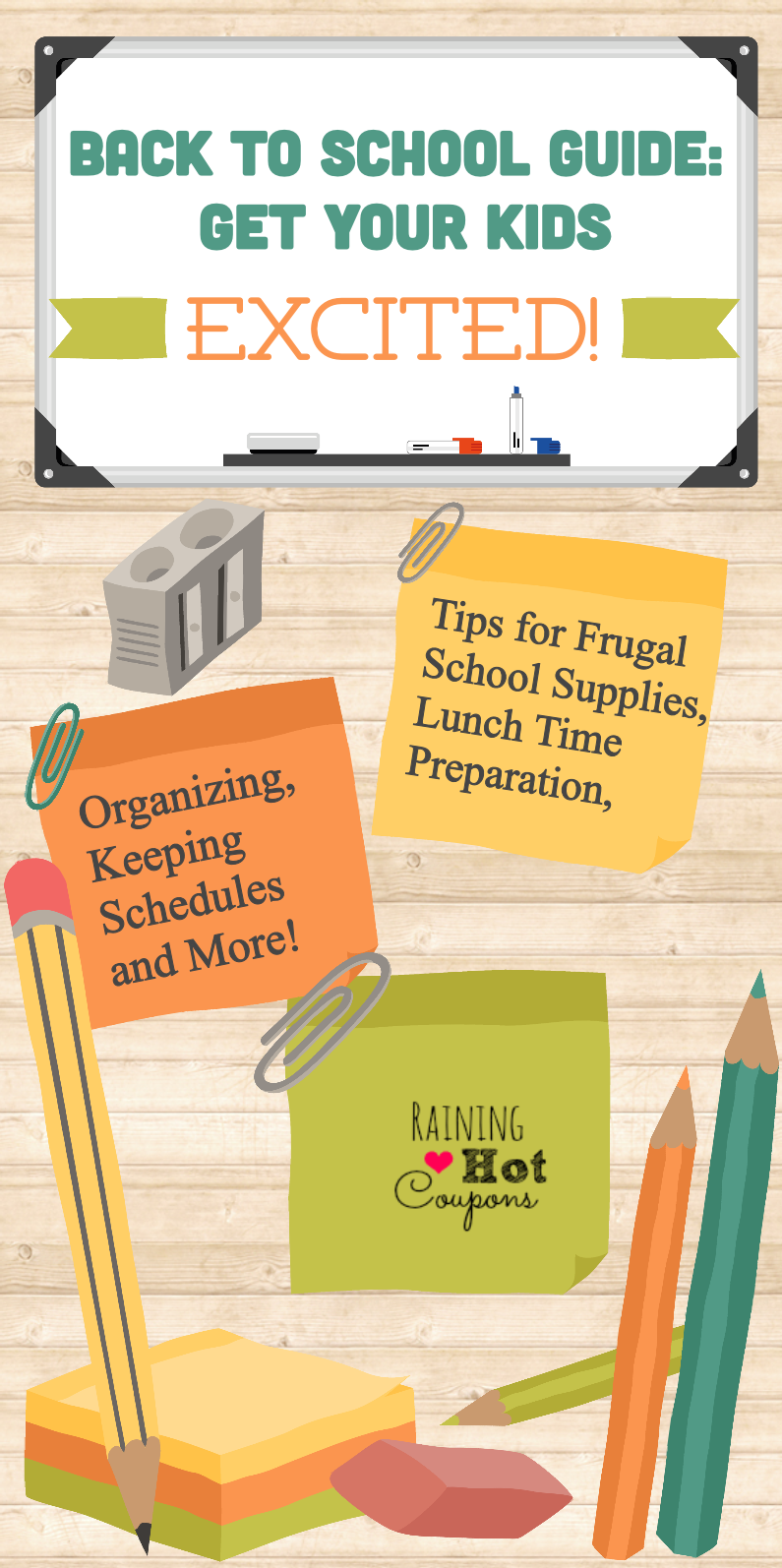 BacktoschoolGraphic Back to School Guide: Tips for Saving Money on Supplies, Lunch Time, Schedules and More!