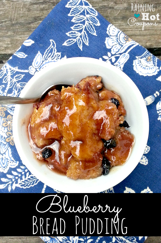 Blueberry-Bread-Pudding