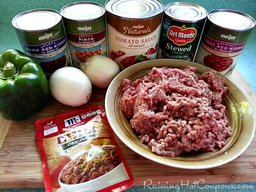 Copycat Wendys Chili Ingredients Copycat Wendys Chili in the Crockpot Recipe