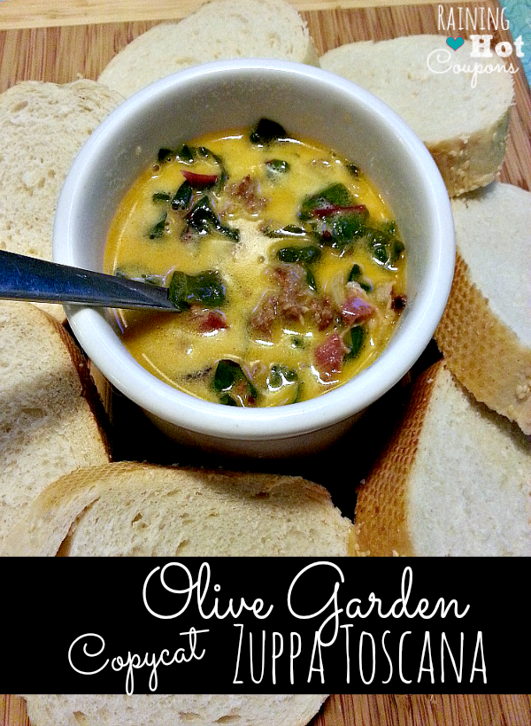 Olive Garden Copy Cat Zuppa Toscana Recipe