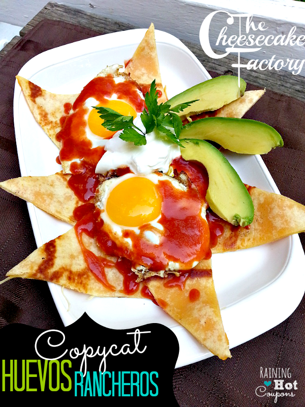 The Cheesecake Factory Copycat Huevos Rancheros Recipe