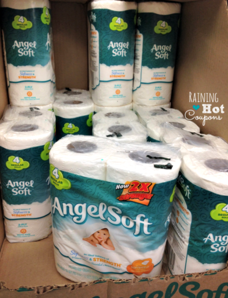angel *HOT* Angel Soft 4pk Toilet Paper Only $0.55!
