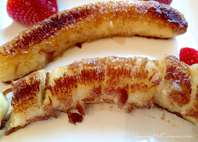Grilled Cinnamon Sugar Bananas