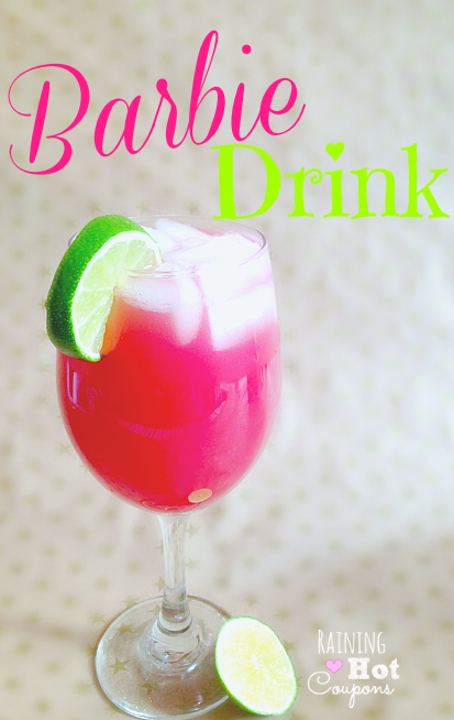 barbie drink 3 Hot Pink Barbie Drink (Alcoholic and Non Alcoholic Version!)