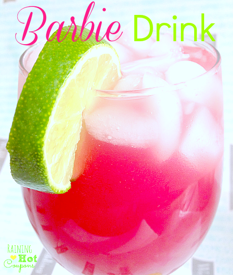 barbie drink 4 Hot Pink Barbie Drink (Alcoholic and Non Alcoholic Version!)