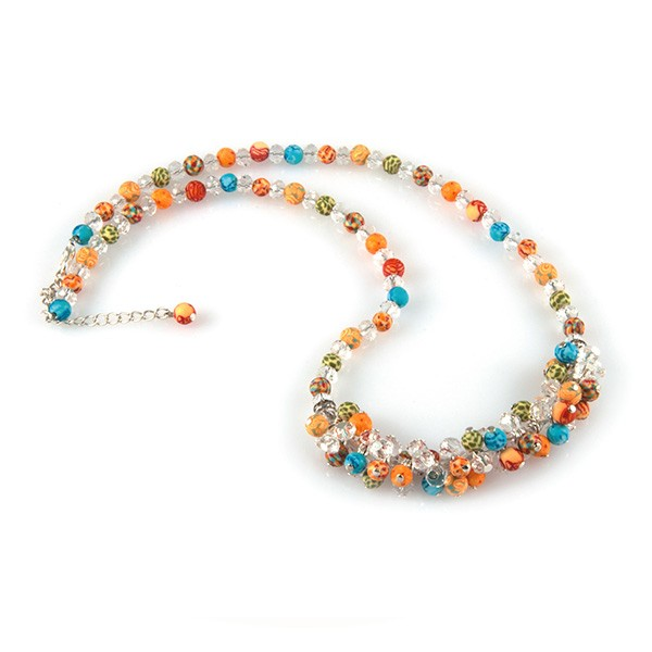 bluebrook 2 Maxwells Attic:  Crystal Rope Necklace by Viva Beads for Only $7.00 + FREE Shipping (After New Member Credit)
