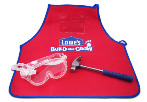 build grow Lowes: FREE Recycling Truck Wooden Project, Apron, Goggles, Patch (Register Now!)