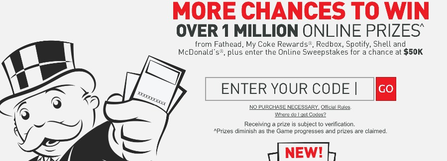 McDonalds: Monopoly Instant Win Game + FREE Codes (LOTS Of WINNERS and AWESOME Prizes!)