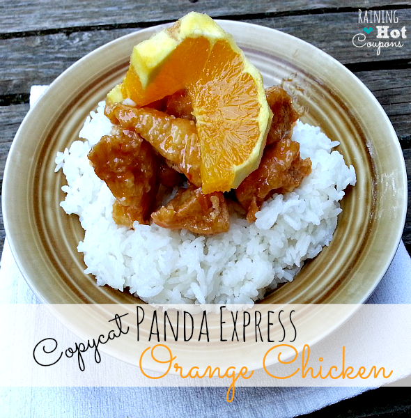 Panda Express Copycat Orange Chicken Recipe