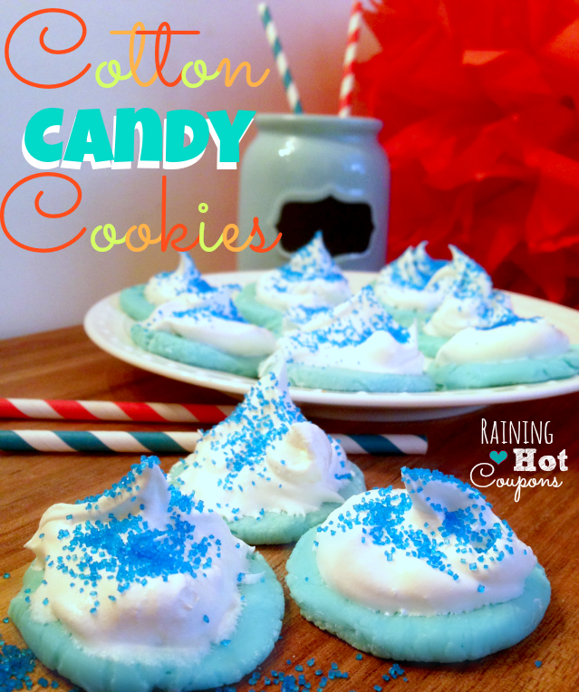 cotton candy cookies Cotton Candy Cookies Recipe