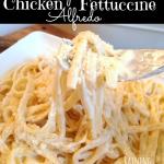 Crock Pot Chicken Fettuccine Alfredo Recipe