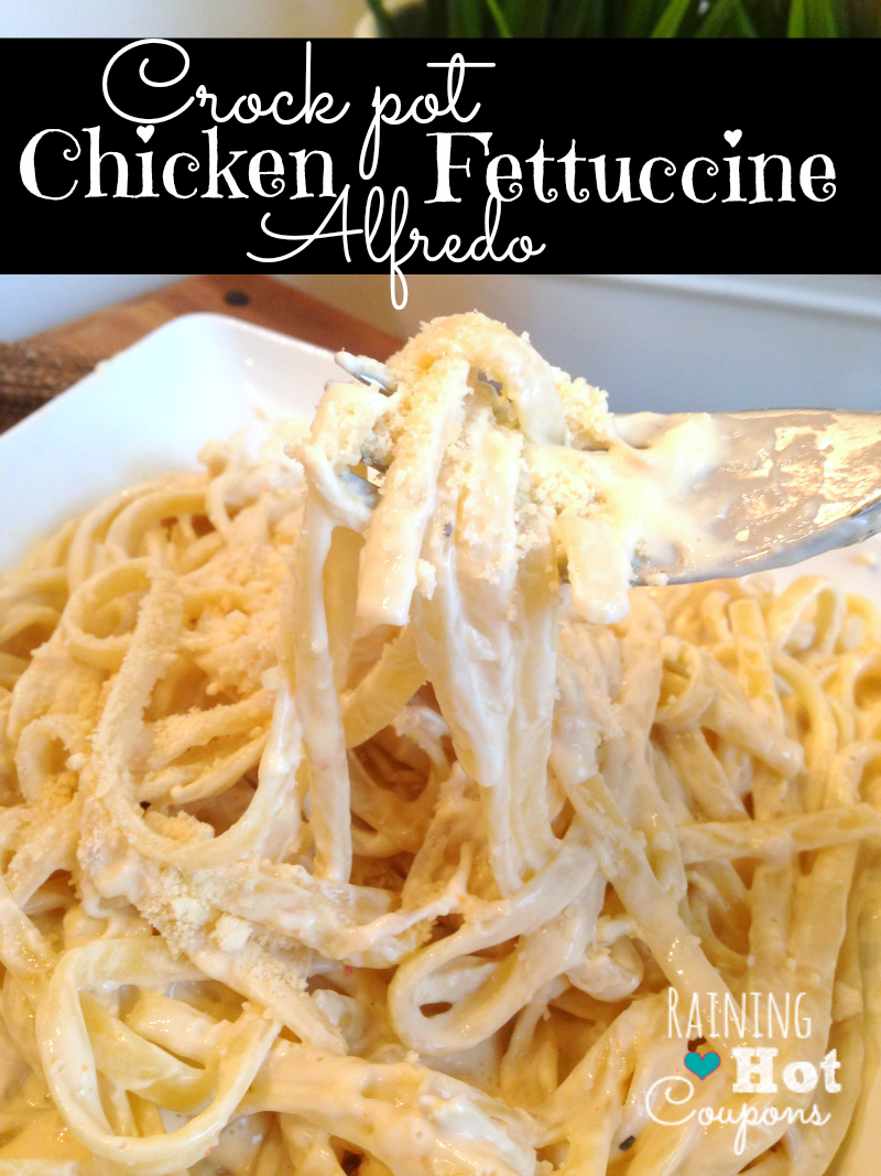 crock pot alfredo chicken Crock Pot Chicken Fettuccine Alfredo Recipe