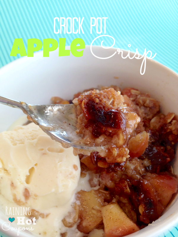 crock pot apple crisp 3