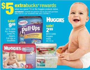 cvs diaper deal *HOT* Huggies Diapers Package ONLY $1.33 (Reg. $9.99!)