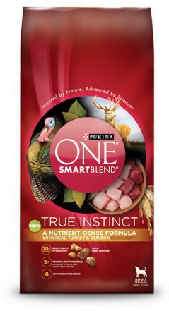 FREE Purina ONE Smart Blend True Instinct Dog Food Sample