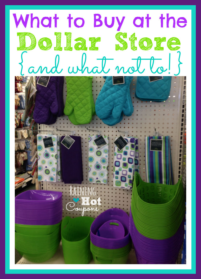 dollar store buys What to Buy at the Dollar Store (And What Not to Buy!)