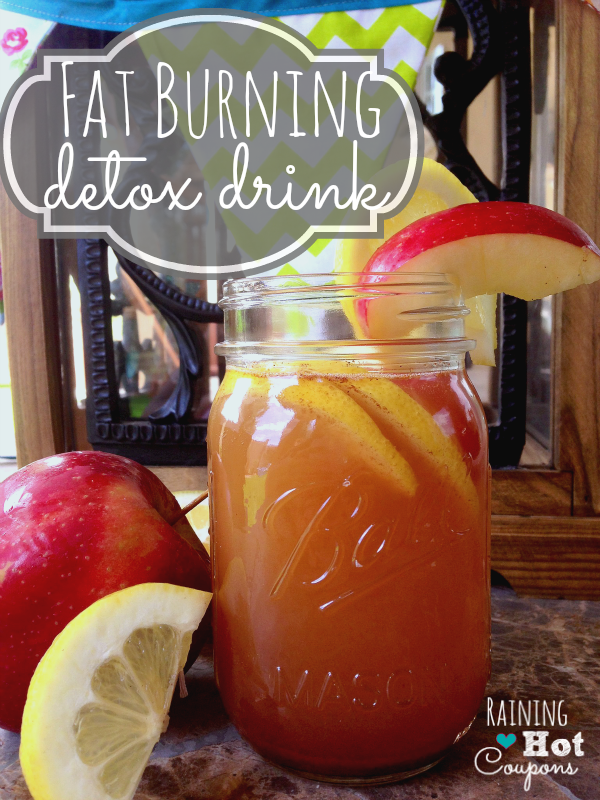fatburningdrink2 Fat Burning Detox Drink Recipe