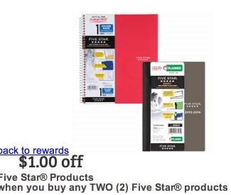 five star coupon