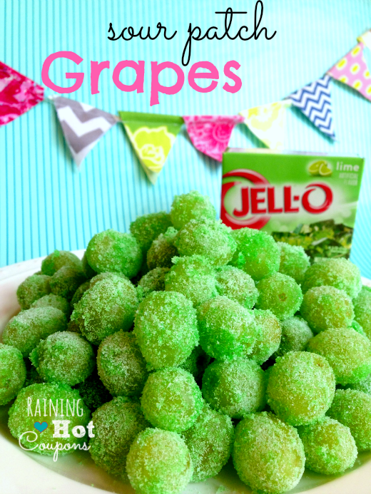 grapes 2 Sour Patch Grapes Recipe