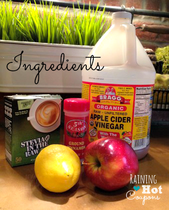 ingredients2 Fat Burning Detox Drink Recipe