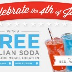 Book-A-Million: FREE Italian Soda (Today Only) Red, White, or Blue