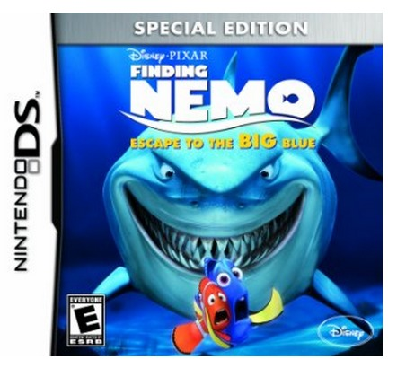 Amazon: *HOT* Finding Nemo: Escape to the Big Blue Special Edition Nintendo DS game $4.99 (Reg. $19.99!)