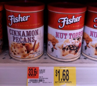 Fisher Nuts Only $0.68 a Can at Walmart!
