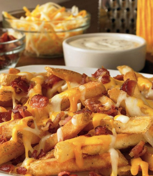 ... (Cheese Fries, Coconut Shrimp, Grilled Shrimp or Bloomin' Onion