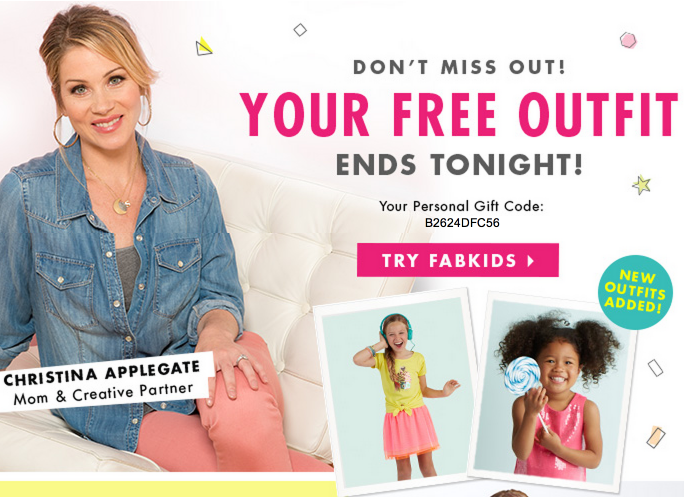 outfit1 Fabkids: *HOT* FREE Outfit ($40 Value) NEW Offer?!